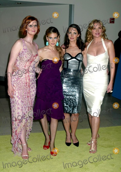 Kristin Davis Photo - Cynthia Nixon Sarah Jessica Parker Kristin Davis and Kim Cattrall at the 6th Season Premiere of Sex and the City at American Museum of Natural History in New York City on June 18 2003 Photo Henry McgeeGlobe Photos Inc 2003