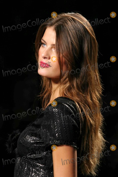 Isabeli Fontana Photo - Isabeli Fontana at Anna Sui Showing of Fall Collection in the Tent at Bryant Park in New York City on 02-09-2005 Photo by Henry McgeeGlobe Photos Inc 2005