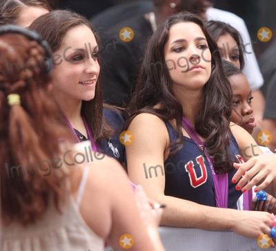 Aly Raisman Photo - Aly Raisman Jordyn Wieber and Gabby Douglas From the Us Womens Gymnastics Team on Nbcs Today Show Toyota Concert Series at Rockefeller Plaza in New York City on 08014-2012 Photo by Henry Mcgee-Globe Photos Inc 2012