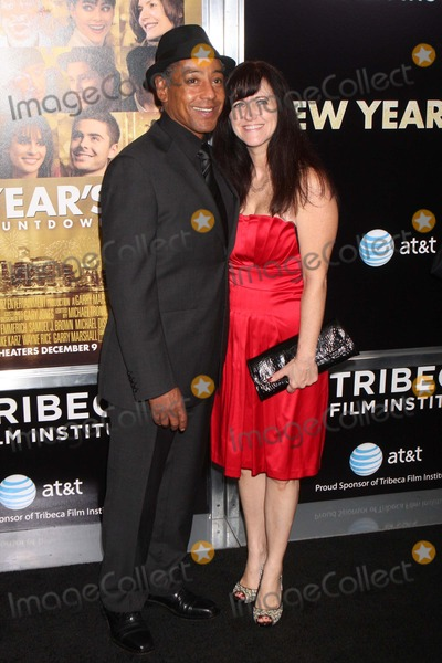 Giancarlo Esposito Photo - Giancarlo Esposito and Wife Joy Mcmanigal Arriving at the Tribeca Film Institute Benefit Screening of New Years Eve at the Ziegfeld Theatre in New York City on 12-07-2011 Photo by Henry Mcgee-Globe Photos Inc 2011