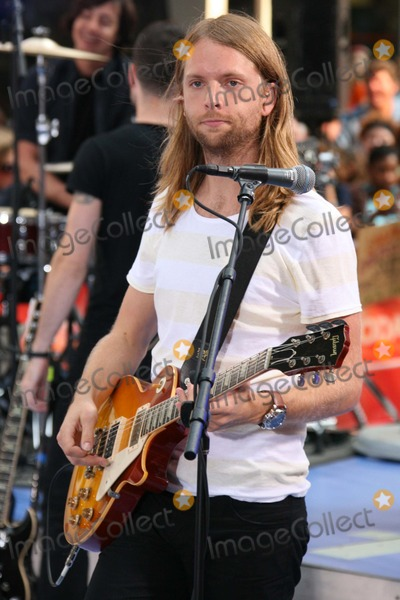James Valentine Photo - New York NY 08-17-07James Valentine of Maroon 5 performing on NBCs Today Show Toyota Concert Series at Rockefeller PlazaDigital photo by Lane Ericcson-PHOTOlinknet