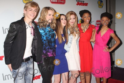 Dove Cameron Photo - Ross Lynch Bridgit Mendler Laura Marano Dove Cameron Chloe Bailey and Halle Bailey Arriving at Disneys Kids Upfront 2013-14 at the Hudson Theatre at the Millennium Broadway Hotel in New York City on 03-12-2013 Photo by Henry Mcgee-Globe Photos Inc 2013