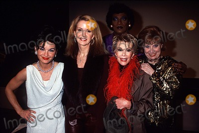 Sheila MacRae Photo - Screen Door 1 Night Performance to Benefit Gods Love We Deliver NYC 021802 Photo by Henry McgeeGlobe Photos Inc 2002 Mary Birdsong Blaine Trump Joan Rivers Sheila Macrae