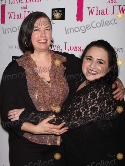 Karen Carpenter Photo - Director Karen Carpenter and Nikki Blonsky Arriving at a Party to Celebrate the New Cast Members of the Off Broadway Play Love Loss and What I Wore at B Smiths Restaurant in New York City on 01-13-2011 photo by Henry Mcgee-globe Photos Inc 2011