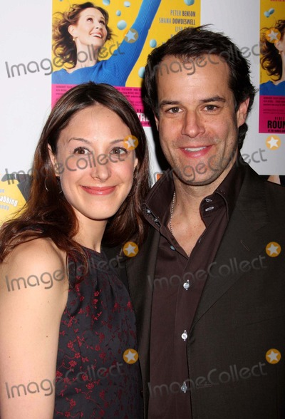 Natalie Gold Photo - NATALIE GOLD AND JOSH STAMBERG ARRIVING AT THE OPENING NIGHT CELEBRATION FOR THE OFF-BROADWAY PLAY DISTRACTED AT THE LAURA PELS THEATRE AT THE HAROLD AND MIRIAM STEINBERG CENTER FOR THEATRE IN NEW YORK CITY ON 03-04-2009  PHOTO BY HENRY McGEEGLOBE PHOTOS INC 2009 K61430HMC