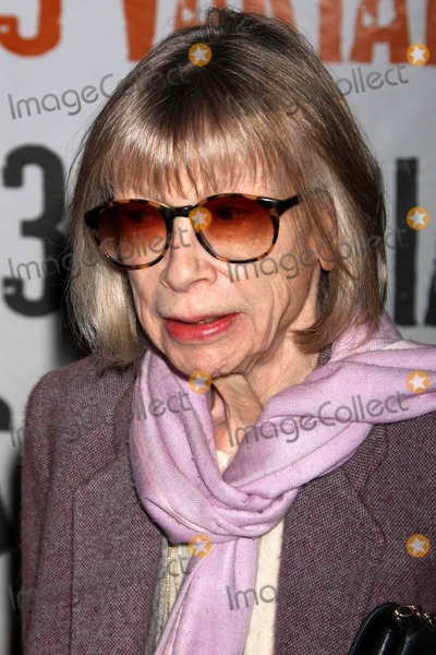 Joan Didion Photo - Joan Didion Arriving at the Opening Night Performance of 33 Variations at the Eugene Oneill Theatre New York City 03-09-2009 Photo by Henry Mcgee-Globe Photos