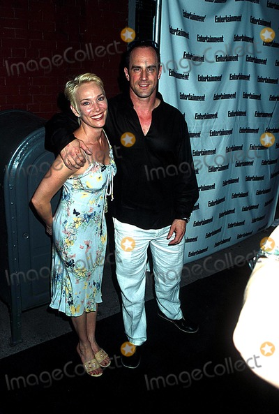 Christopher Meloni Photo - Et Weeklys 1st List Party Milk Studios NYC 062402 Photo by Henry McgeeGlobe Photos Inc 2002 Christopher Meloni and Wife
