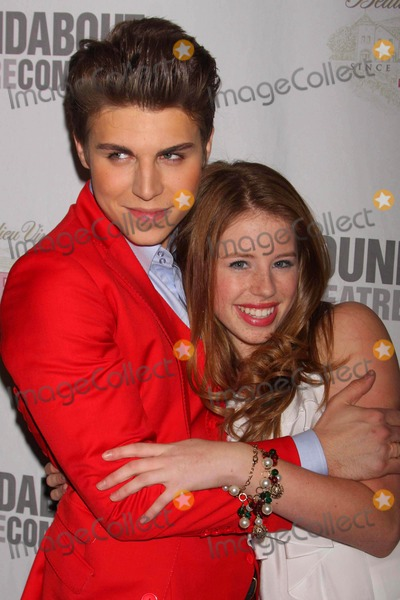 Allie Trimm Photo - Nolan Gerard Funk and Allie Trimm Arriving at the Opening Night Party For the Roundabout Theatre Companys Production of by Bye Birdie at the Hard Rock Cafe Times Square in New York City on 10-15-2009 Photo by Henry Mcgee-Globe Photos Inc 2009