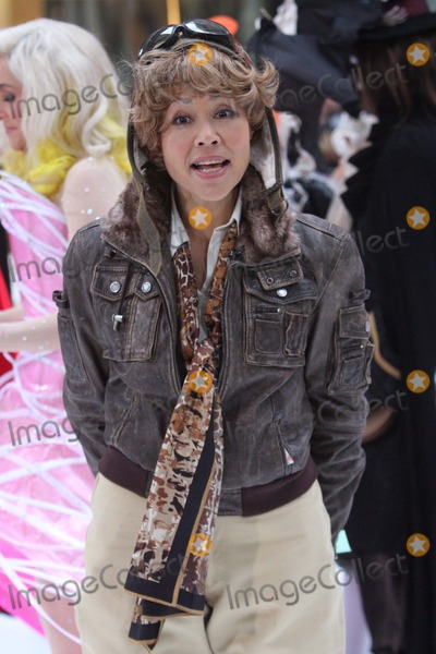 Amelia Earhart Photo - Ann Curry (Dressed As Amelia Earhart) on Nbcs Today Show Annual Halloween Celebration Outside on Rockefeller Plaza in New York City on 10-29-2010 Photo by Henry Mcgee-Globe Photos Inc 2010