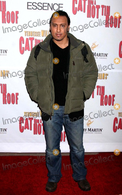 Aasif Mandvi Photo - Aasif Mandvi Arriving at the Opening Night Performance of Cat on a Hot Tin Roof at the Broadhurst Theatre in New York City on 03-06-2008 Photo by Henry McgeeGlobe Photos Inc 2008