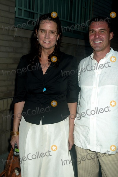 Andr Balazs Photo - Katie Ford and Andre Balazs at Diane Von Furstenberg Showing of Spring Collection at West 12th Street in New York City on September 14 2003 Photo Henry McgeeGlobe Photos Inc 2003