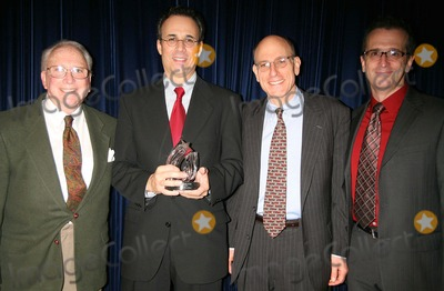 Fred Ebb Photo - ARTHUR WHITELAW JOHN BUCCHINO MITCHELL BERNARD AND TIM PINCKNEY AT THE FRED EBB FOUNDATION AND ROUNDABOUT THEATRE COMPANY COCKTAIL RECEPTION AND PRESENTATION OF THE 1ST ANNUAL FRED EBB AWARD FOR MUSICAL THEATRE SONGWRITING AT THE AMERICAN AIRLINES THEATRE PENTHOUSE LOUNGE IN NEW YORK CITY ON 11-29-2005  PHOTO BY HENRY McGEEGLOBE PHOTOS INC 2005K46088HMc