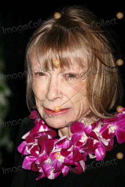 Joan Didion Photo - Joan Didion Arriving at the Opening Night Performance of the Year of Magical Thinking at the Booth Theatre in New York City on 03-29-2007 Photo by Henry McgeeGlobe Photos Inc 2007