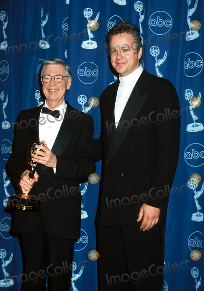 Mr Rogers Photo - 24th Annual Emmy Awards 052196 Fred Rogers (Mr Rogers) Photo by Henry McgeeGlobe Photos Inc 1996 Fredrogersretro
