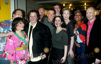 Charles Bush Photo - Rosie Odonnell and Charles Bush (Right) with the Cast of Avenue Q at the Opening Night of Avenue Q at the Golden Theatre in New York City on July 31 2003 Photo Henry McgeeGlobe Photos Inc 2003
