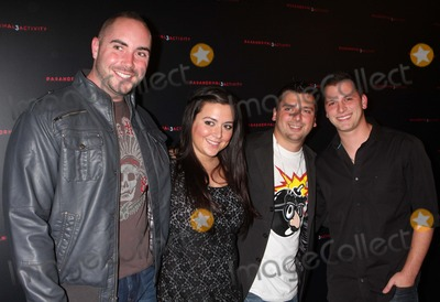 ALBIE MANZO Photo - GREG BENNETT LAUREN MANZO CHRIS MANZO and ALBIE MANZO from Bravos The Real Housewives of New Jersey arriving at a Super Fan screening of Paranormal Activity 3 at Regal Union Square Stadium 14 in New York City on 10-18-2011  Photo by Henry McGee-Globe Photos Inc 2011