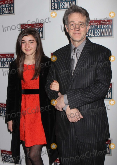 Arthur Miller Photo - Boyd Gaines and Daughter Leslie Gaines Arriving at the Opening Night Performance of Arthur Millers Death of a Salesman at the Barrymore Theatre in New York City on 03-15-2012 Photo by Henry Mcgee-Globe Photos Inc 2012