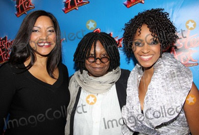 Grace Hightower Photo - Grace Hightower (Wife of Robert De Niro) Whoopi Goldberg and Selele Zodwa Arriving at the Opening Night Performance of Sister Act at the Broadway Theatre in New York City on 04-20-2011 Photo by Henry Mcgee-Globe Photos Inc 2011