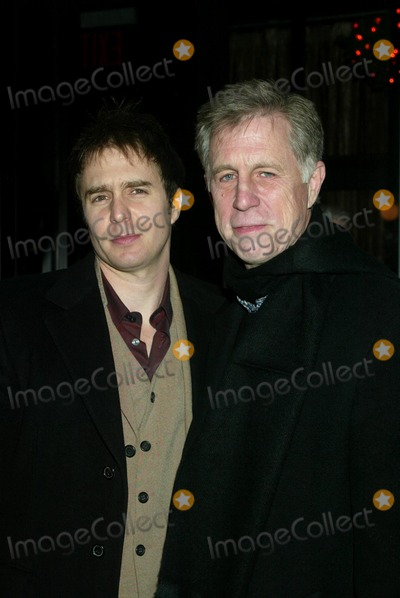 Sam Rockwell Photo - Sam Rockwell with His Father After-party For the Kenny Gordon Foundation Benefit Screening of Confessions of a Dangerous Mind at Metronome in New York City on December 18 2002 Photo by Henry McgeeGlobe Photosinc2002