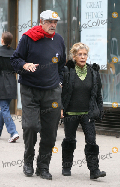 Sean Connery Photo - NYC  040107Sean Connery and wife Micheline walking on the Upper East Side after seeing an afternoon movieDigital Photo by Adam Nemser-PHOTOlinknet