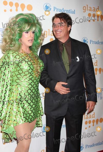Hedda Lettuce Photo - NYC  032809Hedda Lettuce and Chris Nothat the 20th Annual GLAAD Media AwardsMarriott MarquisDigital Photo by Adam Nemser-PHOTOlinknet