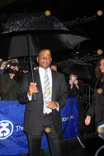 August Wilson Photo - NYC  042610Branford Marsalis at the rainy Broadway opening of August Wilsons Fences at the Cort TheatreDigital Photo by Adam Nemser-PHOTOlinknet