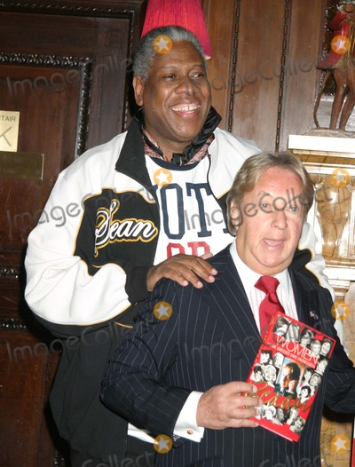 Arnold Scaasi Photo - NYC  092304Andre Leon Talley and Arnold Scaasi at a party celebrating the publication for the Arnold Scaasi new book WOMEN I HAVE DRESSED (AND UNDRESSED) at Le Cirque 2000 Digital Photo by Adam Nemser-PHOTOlinkorg