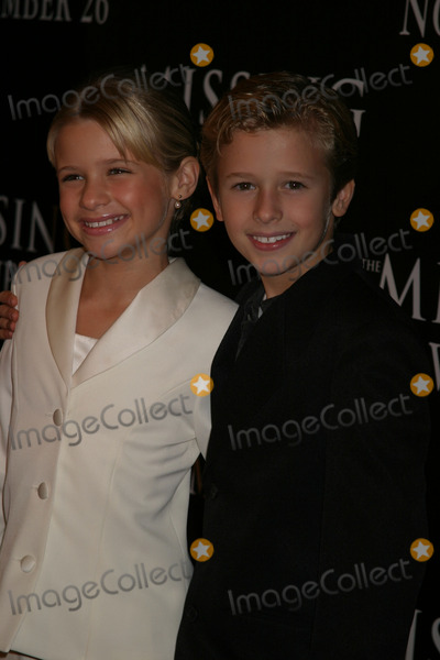 Cayden Boyd Photo - NYC  111603Jenna and Cayden Boyd at the premiere of her new movie THE MISSING at Loews Lincoln Square Digital Photo by Adam NemserPHOTOlink