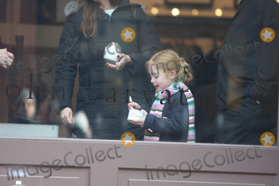 Teri Shields Photo - NYC  010409EXCLUSIVE Brooke Shields and husband ChrisHenchy with their daughters Rowan Francis (5 12 years old) and Grier Hammond (2 12 years old) and her mother Teri Shields eating Pinkberry while shopping in SOHO Digital Photo by Adam Nemser-PHOTOlinknet