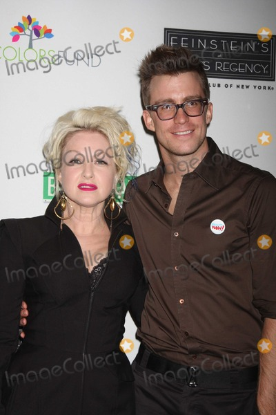 Gavin Creel Photo - NYC  092809Cyndi Lauper and  Gavin Creel (Hair) at the launch of the first monthly True Colors Cabaret presented by The True Colors Tour Broadway Impact and the True Colors Fund at Feinsteins at Loews RegencyDigital Photo by Adam Nemser-PHOTOlinknet