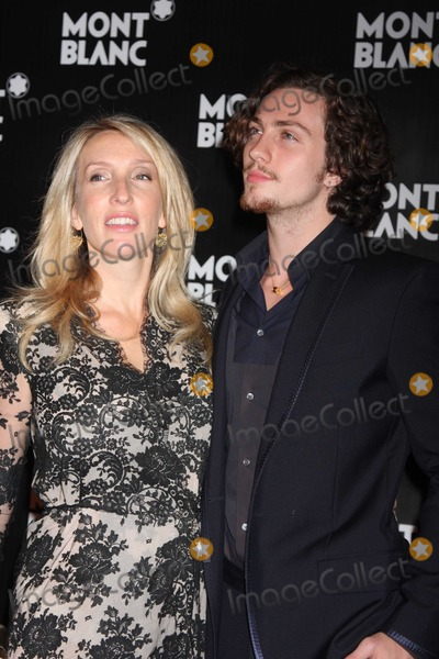 Aaron Johnson Photo - NYC  091210Sam Taylor-Wood and Aaron Johnson at the global launch of the Montblanc John Lennon Edition at Jazz at Lincoln CenterPhoto by Adam Nemser-PHOTOlinknet