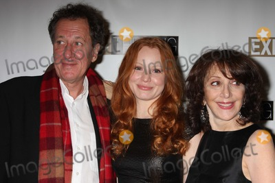 Andrea Martin Photo - NYC  032609Geoffrey Rush Lauren Ambrose and Andrea MartinBroadway opening night party for their playExit The King Ethel Barrymore TheatreDigital Photo by Adam Nemser-PHOTOlinknet