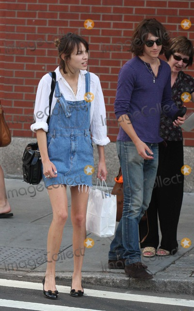 Alex Turner Photo - NYC  072609Alexa Chung (of MTVs Its On with Alexa Chung) her boyfriend Alex Turner (from the Arctic Monkeys) and her parents stopping to get a polaroid family picture taken by a street vendor after having lunch at the Mercer Kitchen in SOHO and then trying unsuccessfully to hail a taxi cabDigital Photo by Adam Nemser-PHOTOlinknet