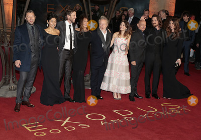 Andrew Tarbet Photo - Dec 03 2014 - London England UK - Exodus Gods And Kings World Premiere -Red Carpet arrivals Odeon Leicester SquarePhoto Shows Joel Edgerton Golshifteh Farahani Andrew Tarbet Giannina Facio Sir Ridley Scott Maria Valverde Sir Ben Kingsley Christian Bale and Sibi Blazic