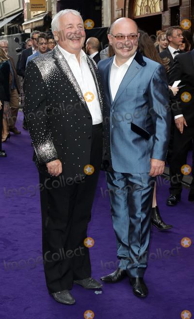 Christopher Biggins Photo - June 15 2016 - Christopher Biggins and Neil Sinclair attending Disneys Aladdin Musical Press Night at Prince Edward Theatre in London UK
