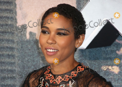 Alexandra Shipp Photo - May 9 2016 - Alexandra Shipp attending X-Men Apocalypse Global Fan Screening at BFI Imax in London UK