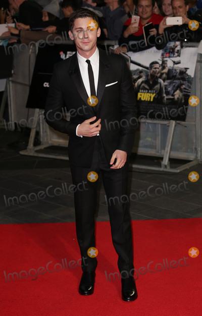 Logan Lerman Photo - Oct 19 2014 - London England UK - 58th BFI London Film Festival Closing Gala Screening of Fury at the Odeon Leicester SquarePhoto Shows Logan Lerman