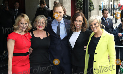 Carol Kirkwood Photo - March 8 2016 - Louise Minchin Carol Kirkwood Dan Walker Sally Nugent and Stephanie McGovern attending The TRIC Awards 2016 Grosvenor House Hotel in London UK