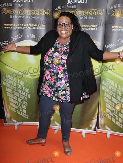 Alison Hammond Photo - Apr 26 2014 - London England UK - Super Juice Me - UK film premiere Odeon West End Leicester SquarePictured Alison Hammond