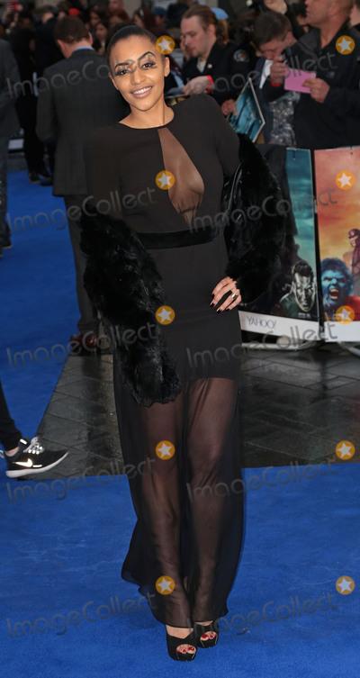 Amal Fashanu Photo - May 12 2014 - London England UK - UK Premiere of X-Men Days Of Future Past Odeon Leicester SquarePhoto Shows Amal Fashanu