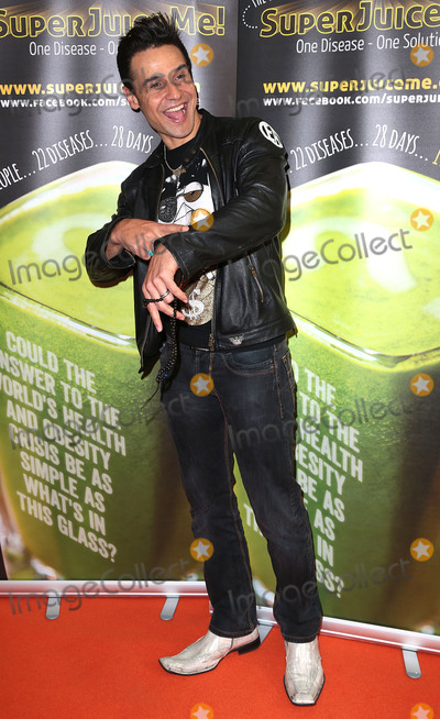 Chico Slimani Photo - Apr 26 2014 - London England UK - Super Juice Me - UK film premiere Odeon West End Leicester SquarePictured Chico Slimani