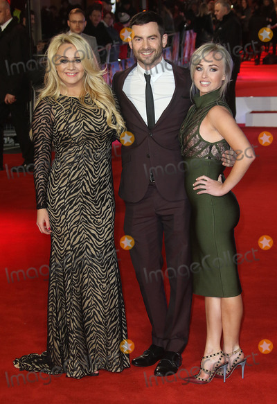 Jorgie Porter Photo - December 9 2015 - Kirsty-Leigh Porter Guest and Jorgie Porter attending Daddys Home UK Film Premiere at Vue Cinema Leicester Square London UK
