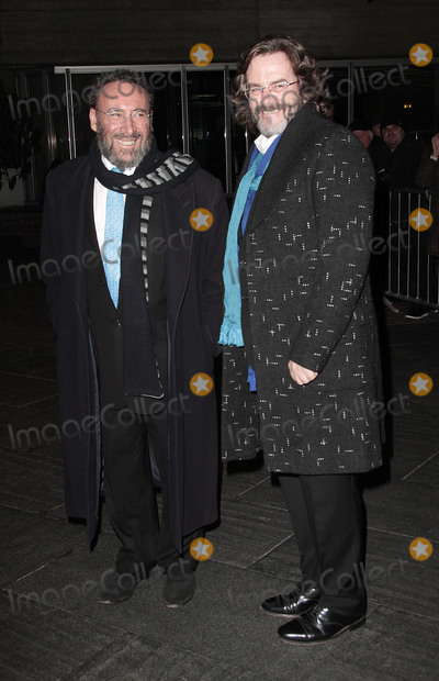 ANTONY SHER Photo - Nov 02 2013 - London England UK - The National Theatre 50 Years On Stage - Red Carpet ArrivalsPhoto Shows  Sir Antony Sher (L) and Greg Doran