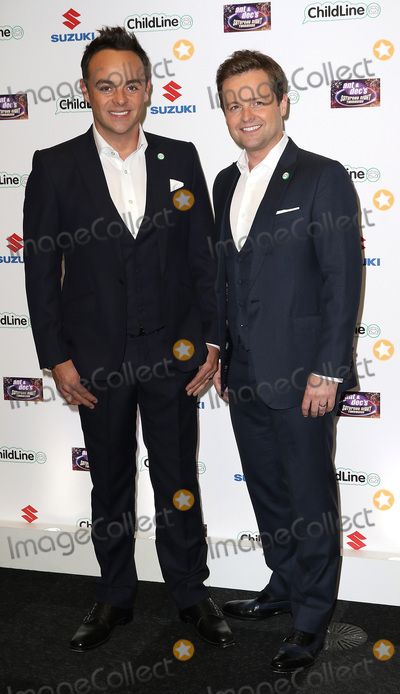 Ant  Dec Photo - Oct 01 2015 - London England UK - Anthony McPartlin and Declan Donnelly attending Ant  Decs Saturday Night Takeaway ChildLine Ball Old Billingsgate