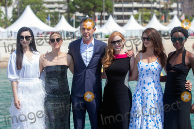 Marion Cotillard Photo - CANNES FRANCE - MAY 10 Penelope Cruz Marion Cotillard Jessica Chastain Simon Kinberg Lupita Nyongo and Fan Bingbing attend the photocall for 355 during the 71st annual Cannes Film Festival at Palais des Festivals on May 10 2018 in Cannes France(Photo by Laurent KoffelImageCollectcom)