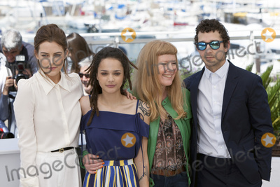 Andrea Arnold Photo - CANNES FRANCE - MAY 15 Riley Keough Sasha Lane Andrea Arnold and Shia LaBeouf attend the American Honey photocall during the 69th annual Cannes Film Festival at the Palais des Festivals on May 15 2016 in Cannes France(Photo by Laurent KoffelImageCollectcom)