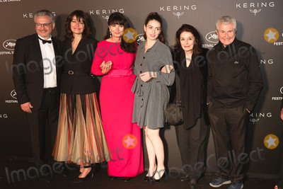 Claude Lelouche Photo - CANNES FRANCE - MAY 19 (L-R) guest Marianne Denicourt Valerie Perrin Tess Lauvergne Anouk Aime and Claude Lelouch at Place de la Castre on May 19 2019 in Cannes France(Photo by Laurent KoffelImageCollectcom)