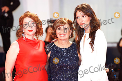 Ariane Ascaride Photo - VENICE ITALY - SEPTEMBER 05 Ariane Ascaride Lola Naymark and Anais Demoustier walk the red carpet ahead of the Gloria Mundi screening during the 76th Venice Film Festival at Sala Grande on September 05 2019 in Venice Italy (Photo by Laurent KoffelImageCollectcom)