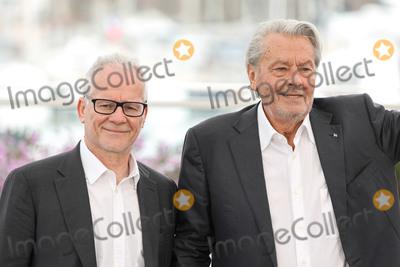 Thierry Fremaux Photo - CANNES FRANCE - MAY 19 Thierry Fremaux and Alain Delon attend the photocall for Palme DOr DHonneur during the 72nd annual Cannes Film Festival on May 19 2019 in Cannes France(Photo by Laurent KoffelImageCollectcom)