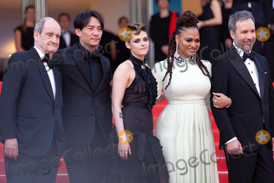 Chang Chen Photo - CANNES FRANCE - MAY 8 Pierre Lescure Chang Chen Kristen Stewart Ava DuVernay Denis Villeneuve attend the screening of Everybody Knows (Todos Lo Saben) and the opening gala during the 71st annual Cannes Film Festival at Palais des Festivals on May 8 2018 in Cannes France(Photo by Laurent KoffelImageCollectcom)